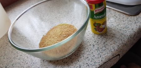 Couscous and Knorr's Aromat